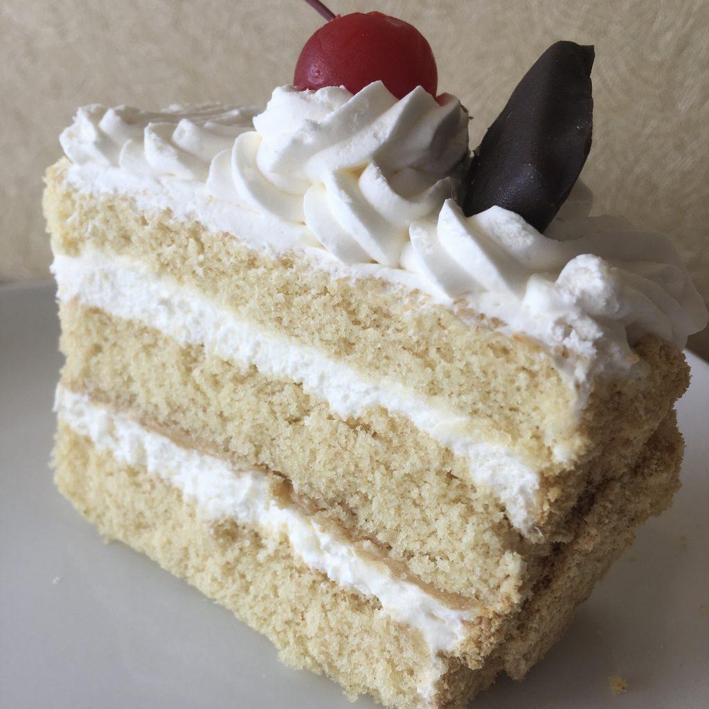Graham Cracker Cake Slice