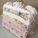 Funfetti Cake Slice