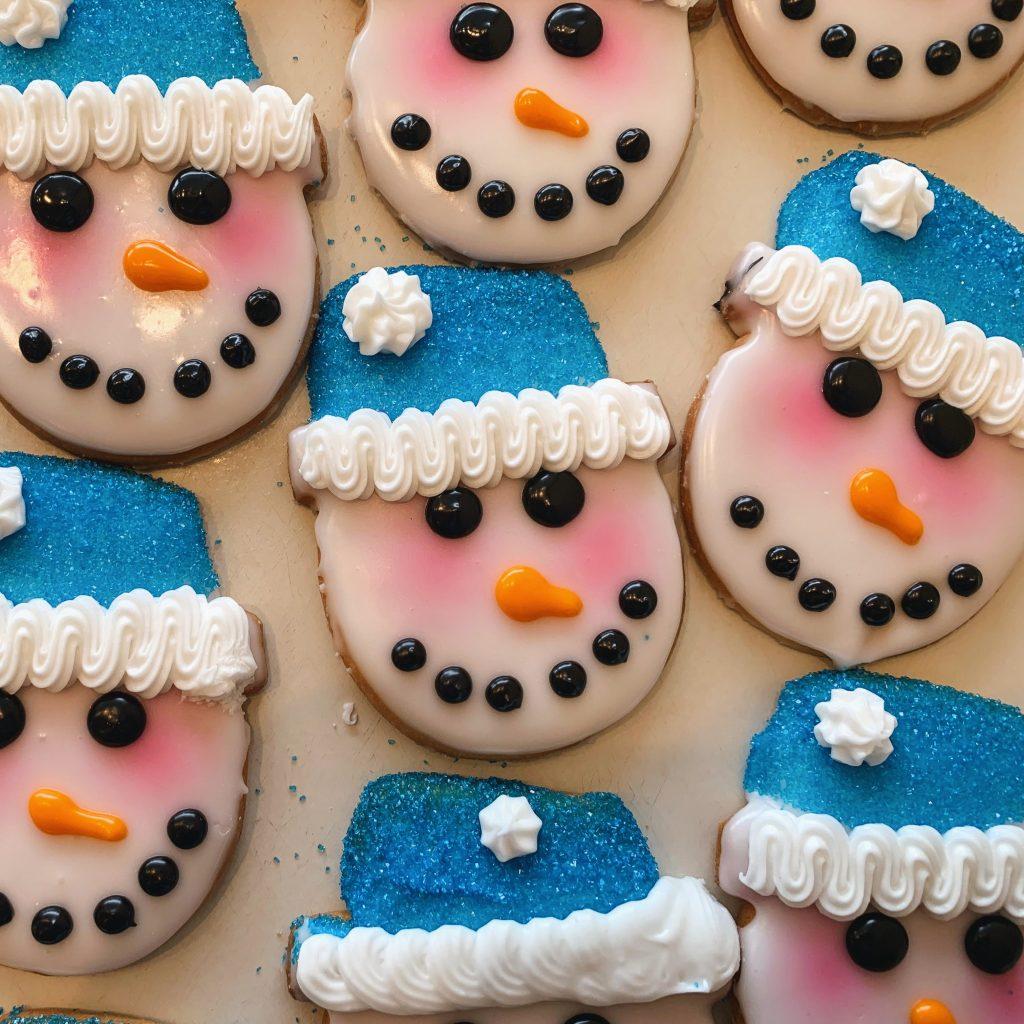Jumbo Snowman Cookie Bags