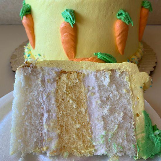 Easter Bunny Centerpiece Cake