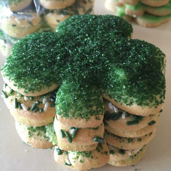 St. Patrick's Day Cookie Bag