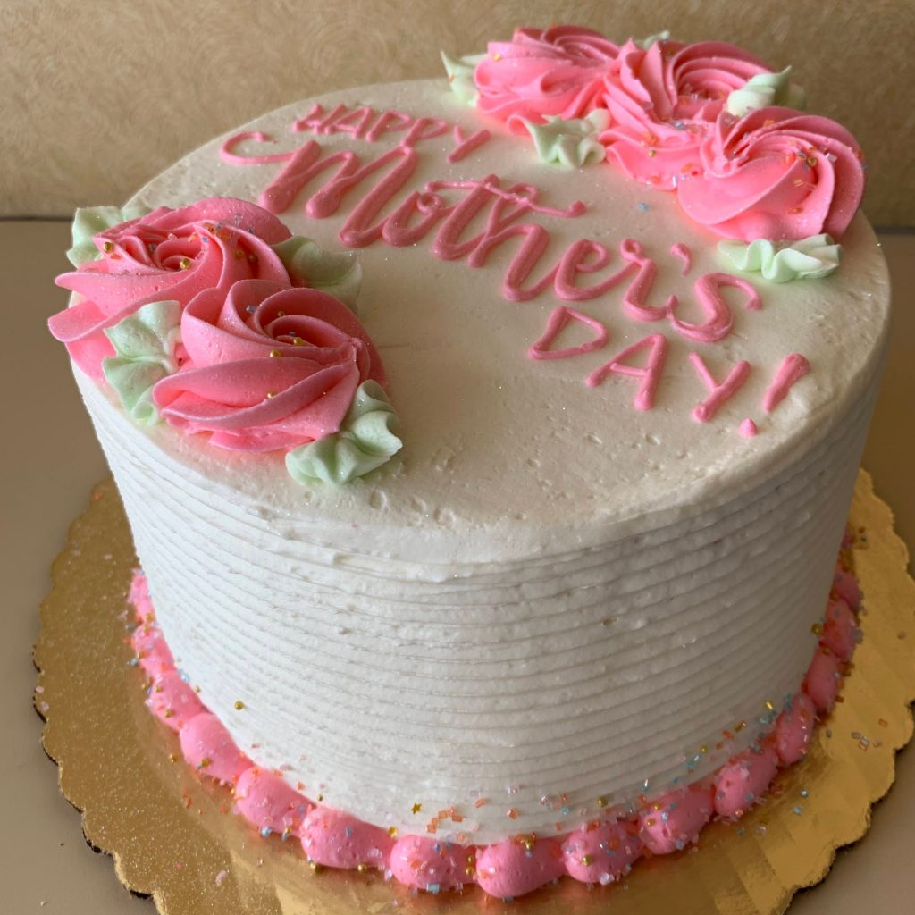Mother's Day Centerpiece Cake 2021