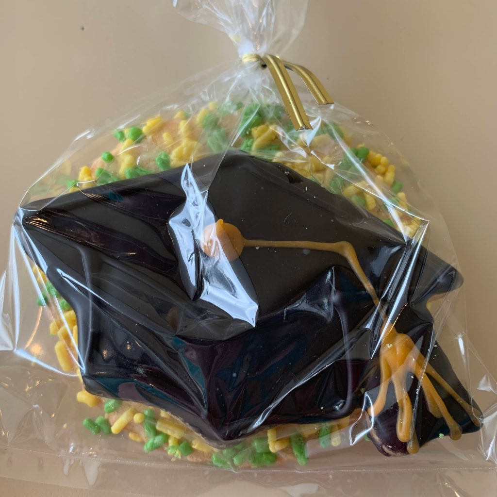 Graduation Cap Cookie Bag 2021