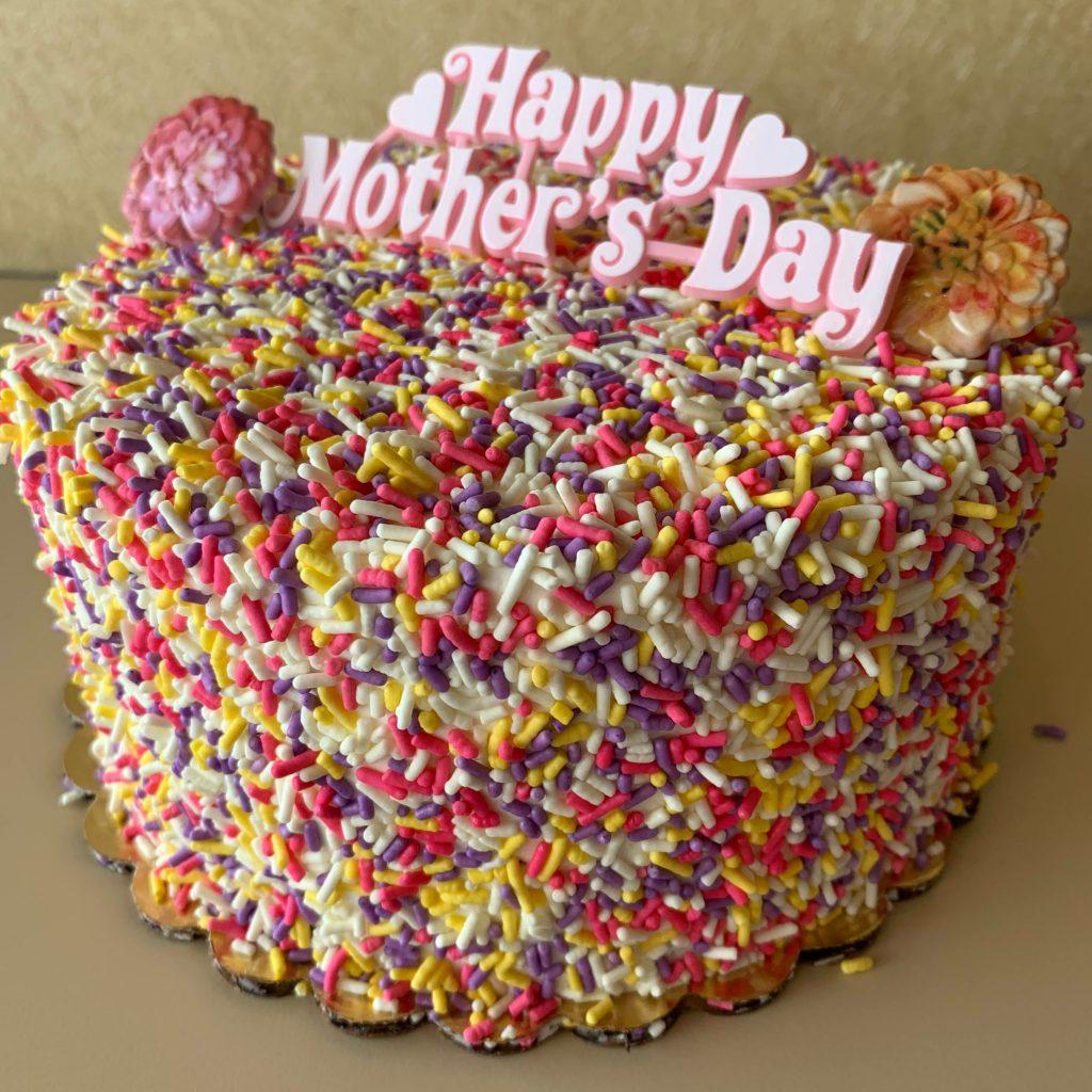 Mother's Day Sprinkle Cake 2021