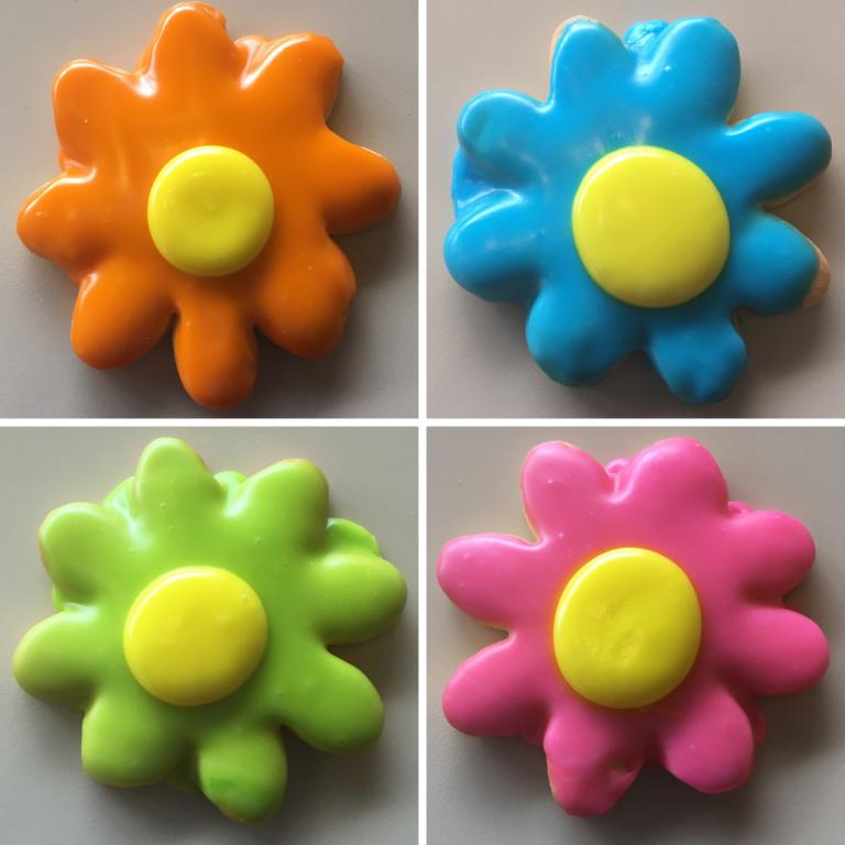 Flower Power Cookies