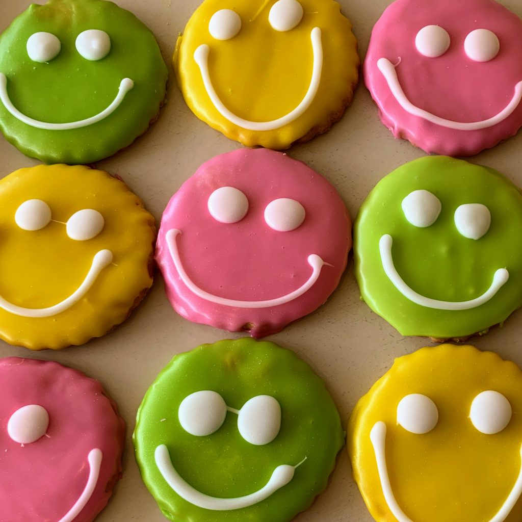 Slice of Summer Face Cookies 2021