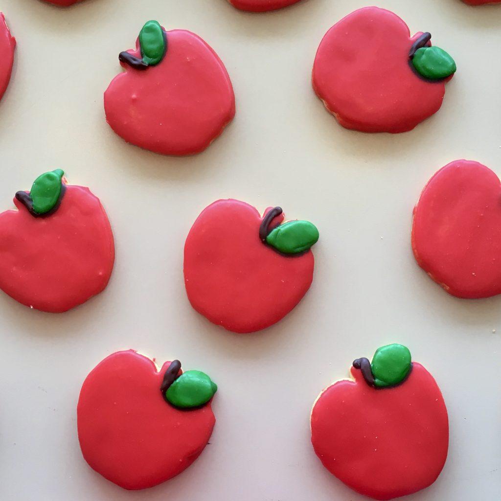 Iced Apple Cookies