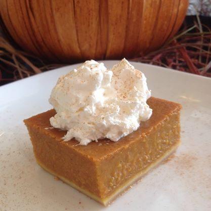 Pumpkin Slice w/Whipped Cream